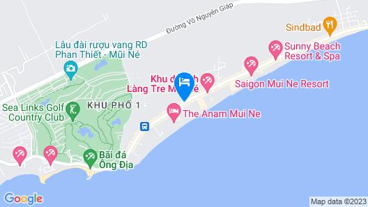 Sailing Club Resort Mui Ne Map
