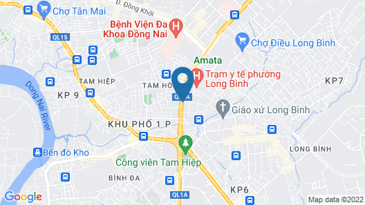 Ha Trinh Hotel Map