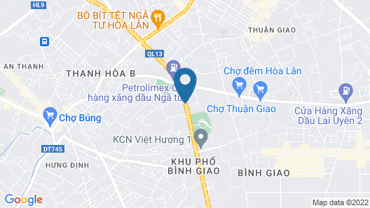 Citadines Central Binh Duong Map