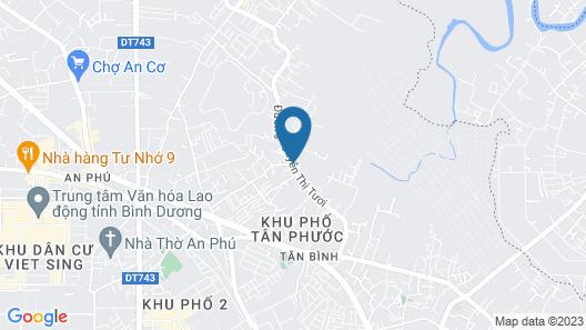 Cozy Hotel Map