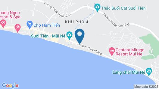 Diem Lien Guesthouse Map