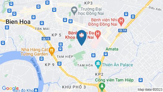 Hostel NGOC LAN Map