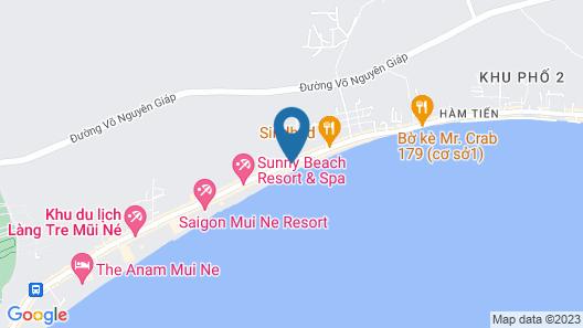 Hiep Hoa Resort Map