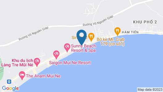 Cocosand Hotel Map