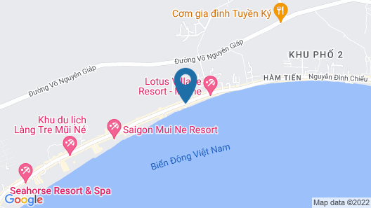 Riva Mui Ne Resort Map