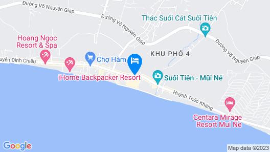 Muine deCentury Beach Resort & Spa Map