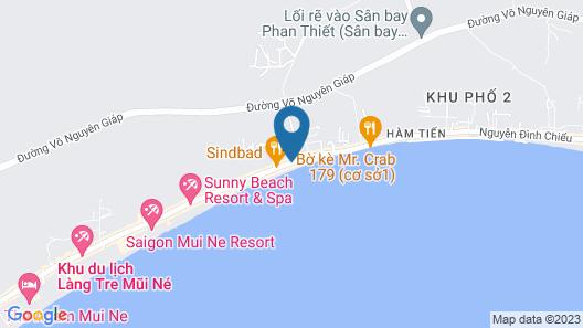 Sea Winds Resort Map