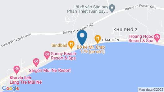 Huyen Phuong Guest Hotel Map