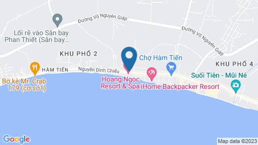 Mui Ne Alena Bungalow Hotel Map