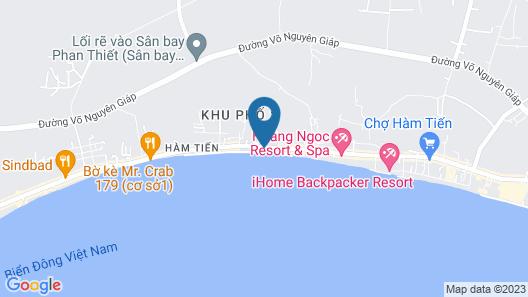 Sand Beach Resort Map