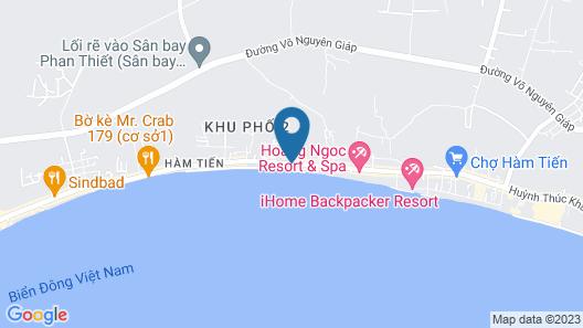 Hai Yen Family Resort Map