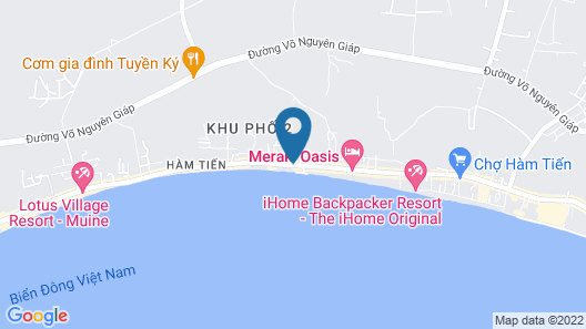 Rang Garden Hill Side Resort Map