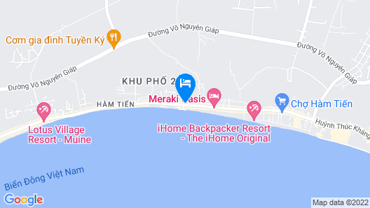 tropic hostel and restaurant Map