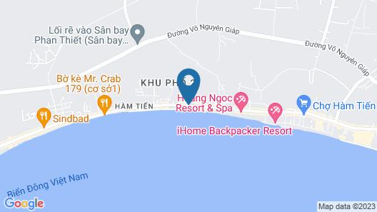 Minh Tam Resort Map
