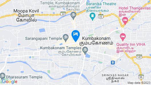 Hotel Metro Map