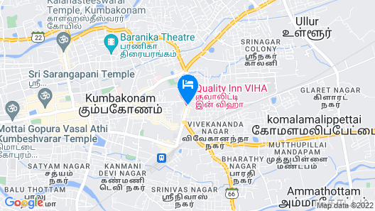 Quality Inn Viha Map
