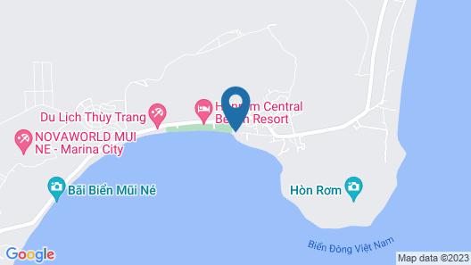 Eagles Beach Resort Map