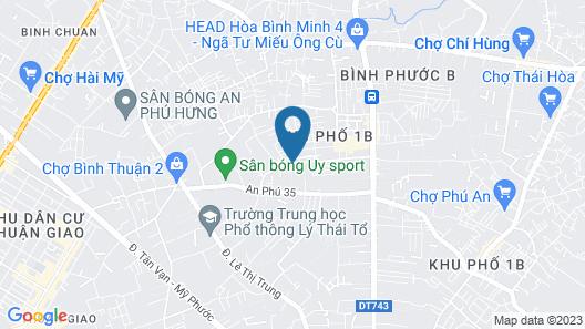 Saigon Park Resort Map