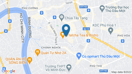 Long Bao Chau Hotel Map