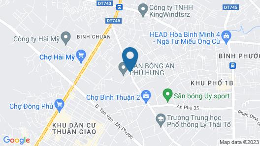 Hoa Ban Hotel Map