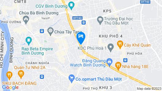 Becamex Hotel Thu Dau Mot Map
