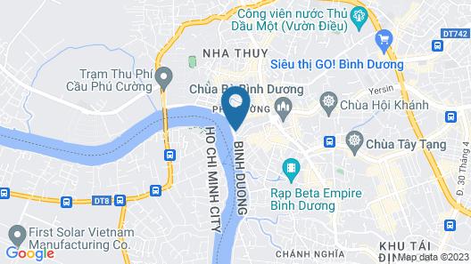 Bcons Hotel Binh Duong Map