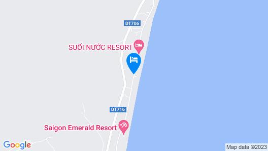 Saigon Emerald Resort Map