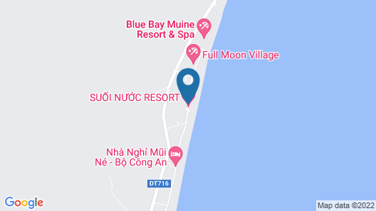Suoi Nuoc Resort Map