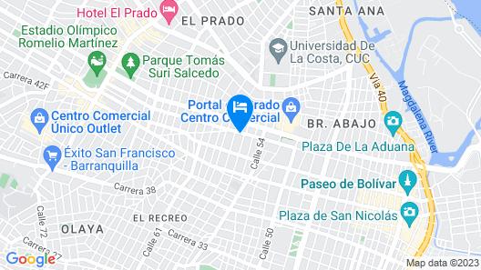 Catedral Inn Map