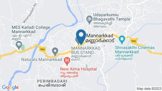KTDC Tamarind Mannarkkad Map