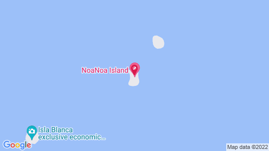 NoaNoa Private Island Estate - Adults Only Map