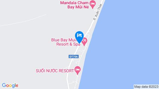 Blue Bay Mui Ne Resort & Spa Map