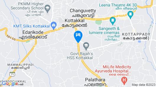 Hotel Virad Map