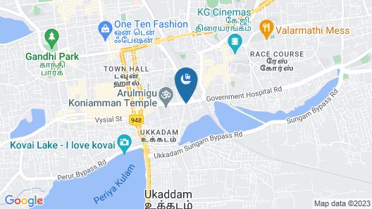 Hotel Chanma International Map