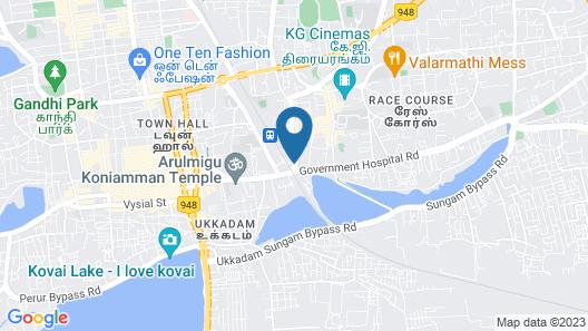 Legends Inn Map