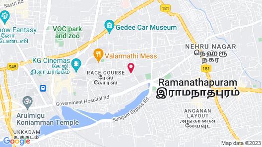 Vivanta Coimbatore Map