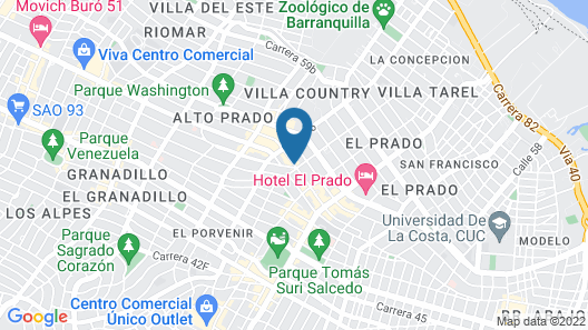 Country International Hotel Map
