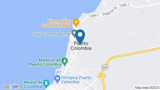 Imagine Beach Hotel Map