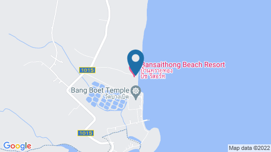 Bansaithong Beach Resort Map