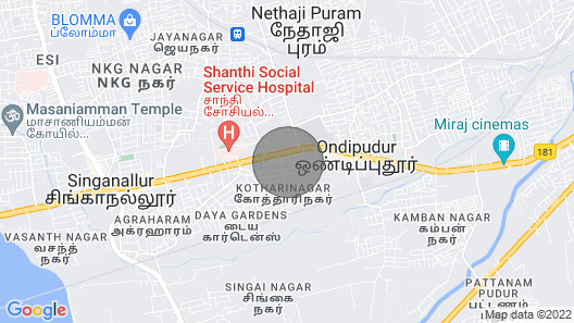 D3 Spice Homestay Apartment Map