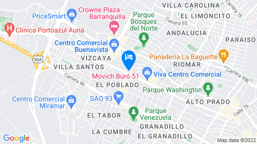 Movich Buró 51 Map