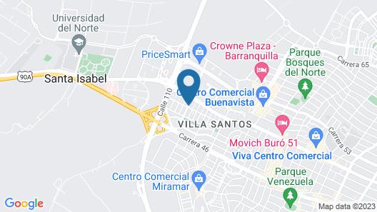 Sonesta Hotel Barranquilla Map