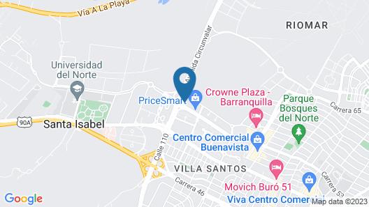 Holiday Inn Express Barranquilla Buenavista, an IHG Hotel Map