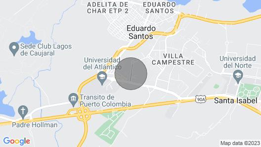 Apartamento Amoblado Vista al Mar Map