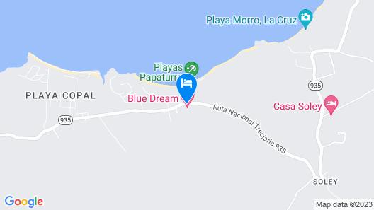 Blue Dream Kiteboarding Resort Map