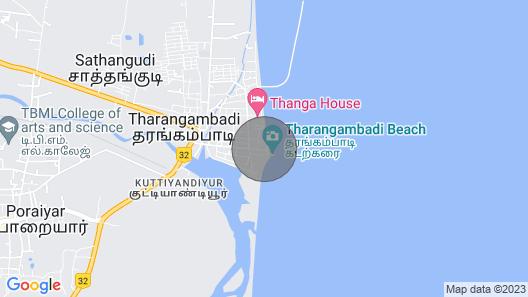 Elim Vacation Villa, Tharangambadi Map