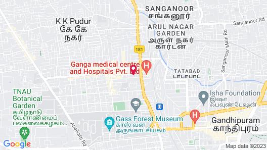 Hotel SPR Inn Map