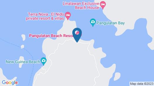 Pangulatan Beach Resort Map