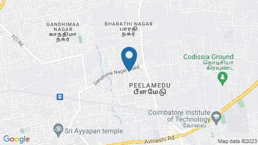 OYO 12798 Soundaryam Apartments Map