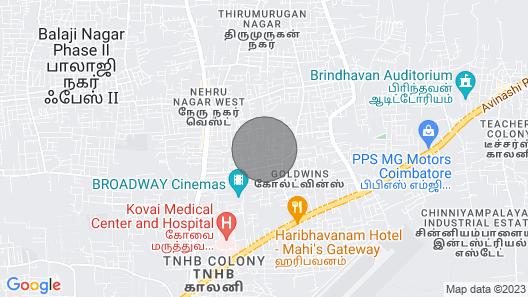 Tranquil Homes, Near Airport, Kmch Hospital, Codissia Trade Fair Complex Map